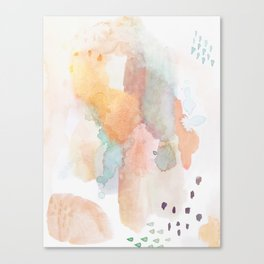shifting dimensions Canvas Print
