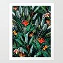 Midnight Garden V by burcukorkmazyurek