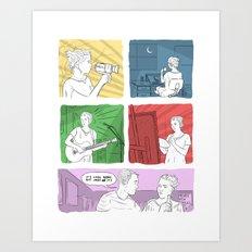 Art Girl Art Print