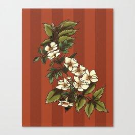 Vintage Flower (3) Canvas Print