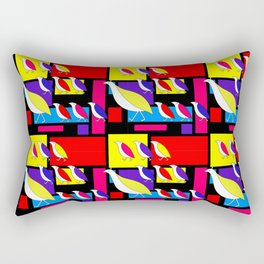 Partridge Parade Rectangular Pillow