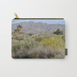 Desert Scene 7 Coachella Valley Wildlife Preserve Carry-All Pouch