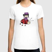 ladybug T-shirts featuring Ladybug by flydesign