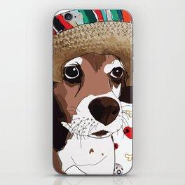Cinco de Beagle iPhone Skin