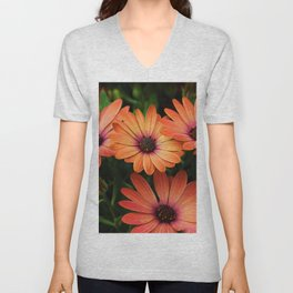 Sunset Daisy Unisex V-Neck