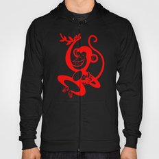 Red Monkey Hoody