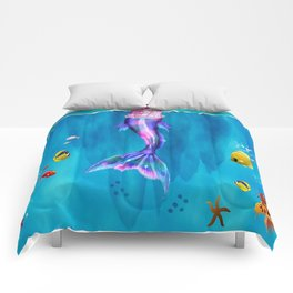 My daughter wants to be Mermaid Comforters