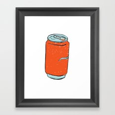 soda Framed Art Print