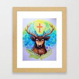 Jager Framed Art Print
