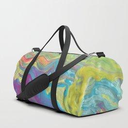 Yellow Geode Duffle Bag