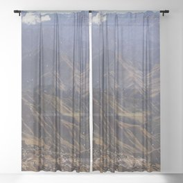 Lets Get High Sheer Curtain