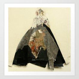 Hommage à Goya II Art Print