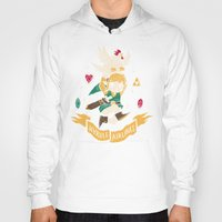 Hoodies featuring hyrule airlines brown by Louis Roskosch
