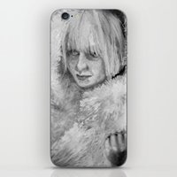 sia iPhone & iPod Skins featuring Sia by JenHoney