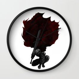 Berserk Guts 3 Wall Clock