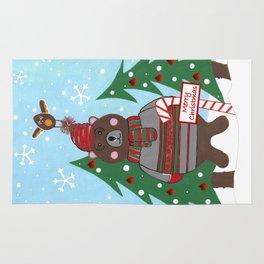Have A Beary Nice Christmas Rug