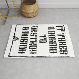 Believe the Dogma - What takes Rug