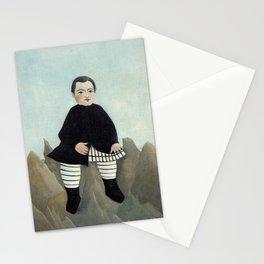 Boy on the Rocks Stationery Cards
