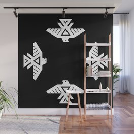 Thunderbird flag - HD image inverse Wall Mural