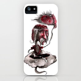 Open Your Head iPhone Case