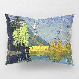 Yoshida Hiroshi - Japan Alps 12title, Hotaka Mountain - Digital Remastered Edition Pillow Sham