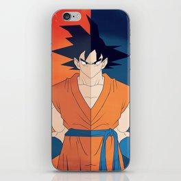 Minimalistic Goku iPhone Skin