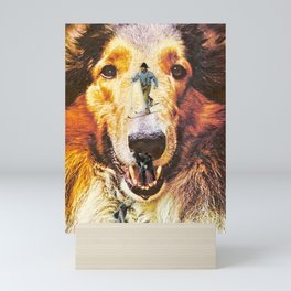 Land of Dog Mini Art Print