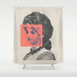 Sunday Girl Shower Curtain