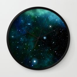 Galaxy 10 Wall Clock