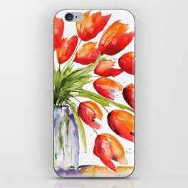 Tulips Overflowing iPhone Skin