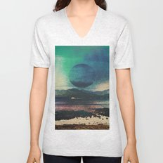 Fluid Moon Unisex V-Neck