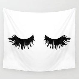 Eyelash Print Wall Tapestry