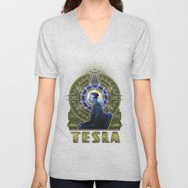 Nikola Tesla Unisex V-Neck