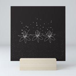 Magical lotus flower Mini Art Print