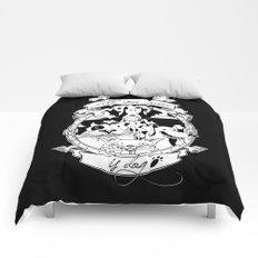 All you need is dog #1 Comforters