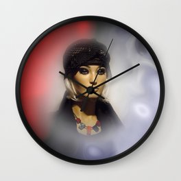 in the showcase -2- Wall Clock