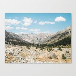 Rae Lakes - Kings Canyon II Canvas Print