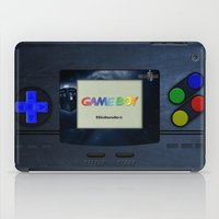 gameboy iPad Cases featuring GAMEBOY by MiliarderBrown