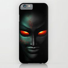 Zombie Ghost Halloween Face iPhone 6s Slim Case