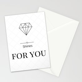 Shines For You Stationery Cards