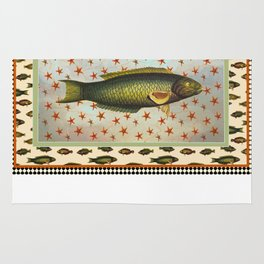 Fishing and Lures  Rug
