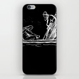 Norse Myth Frigg and Odin Sailing In Fensalir iPhone Skin