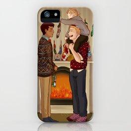 Shingeki No Christmas - Reibertani iPhone Case