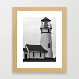 Cape Blanco Lighthouse Framed Art Print