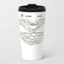 Chanson L'Amour Vintage Romance Travel Mug