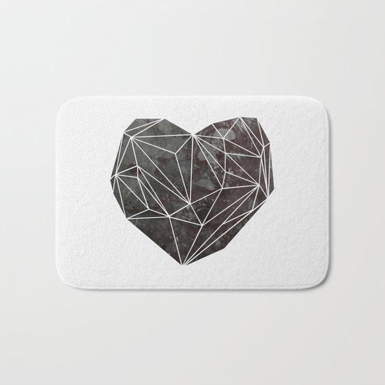 Heart Graphic 4 Bath Mat