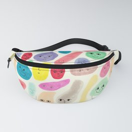 Colored Faces Fanny Pack