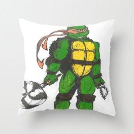 Ninja Turtles Mikey Throw Pillow