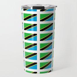 Flag of tanzania -Tanzania,Tanzanian,swahili,Dar es salam,Mwanza,Dodoma,Ngorongoro Travel Mug