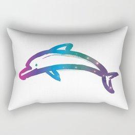 Universe in Dolphin_C Rectangular Pillow
